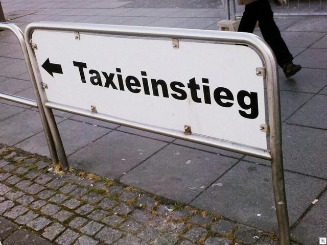 Taxieinstieg