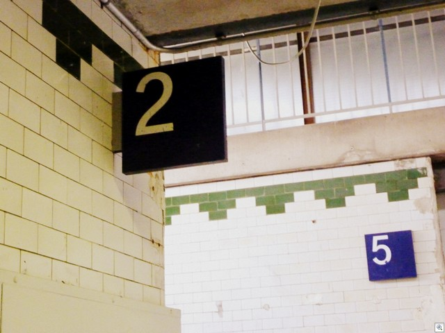 Gleis 2 und 5