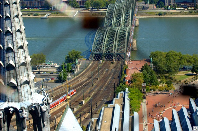 Noch mal Hohenzollernbrücke