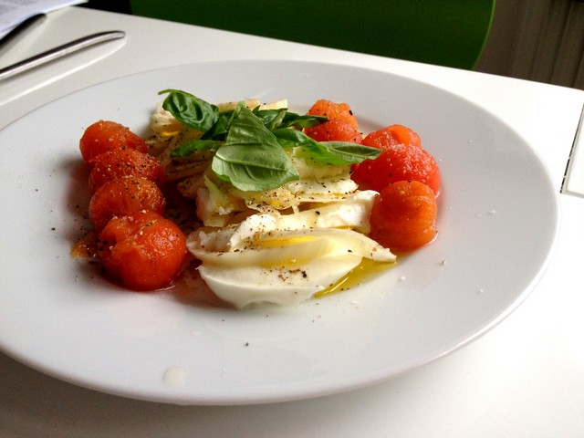 Mozzarella-Fenchel-Salat
