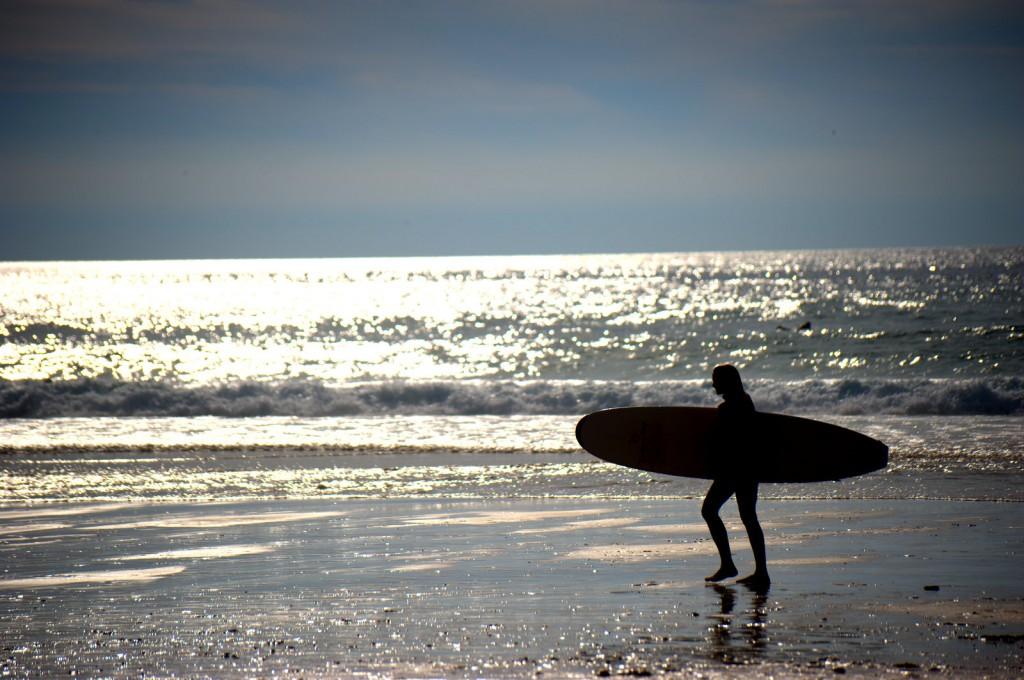 Andere Surferin
