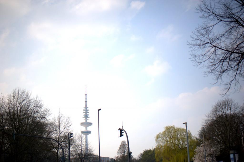 Funkturm, vermutlich